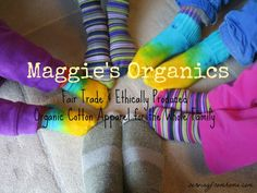 """Maggie's Organics - Maggie's Organics produces fair trade organic cotton products for the whole family! Find out how co-op farms work & what it truly means to be """"fair trade""""."""