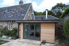 Extension Veranda, Porch Extension, Cottage Extension, House Extension Design, House Design, Extension Ideas, Side Extension, Bungalow Extensions, Garden Room Extensions