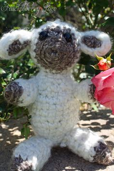 Huckleberry Love: Crochet Easter Lamb