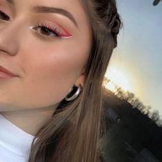 Fancy Makeup, Edgy Makeup, Creative Eye Makeup, Makeup Eye Looks, Colorful Eye Makeup, Eye Makeup Art, No Eyeliner Makeup, Cute Makeup, Pretty Makeup
