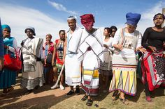 Traditional Xhosa wedding in Estern Cape South African Fashion, Latest African Fashion Dresses, African Print Dresses, African Dress, African Prints, Xhosa Attire, African Attire, African Wear, African Traditional Wedding Dress
