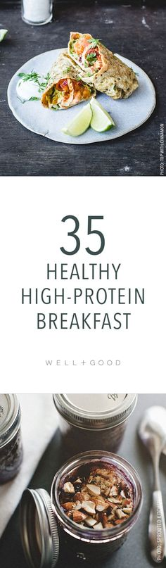 Healthy breakfast options to make
