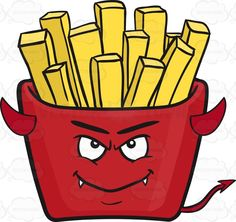 Teasing Clumsy Red Pack Of French Fries Emoji Vector Clipart, Vectors, Kiss Emoji, Ready To Rumble, Cute Emoji, Fried Potatoes, Kawaii, French Fries, Red Riding Hood