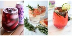 10 LaCroix Cocktails You Need to Try Before Summer Officially Ends 10 LaCroix Cocktail Recipes – Easy Summer Cocktail Recipes Easy Summer Cocktails, Cocktails To Try, Wine Cocktails, Classic Cocktails, Cocktail Recipes, Drink Recipes, Tea Recipes, Energy Drinks, Happy Hour