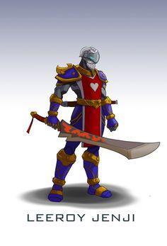 Jak wyglądaliby bohaterowie Overwatcha w ciuchach z Warcrafta lub Diablo? / CD-Action