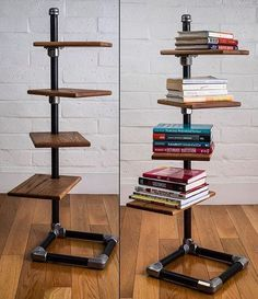 Merveilleux Amazing Freestanding Shelf Built With Keeklamp Fitting And Pipe.