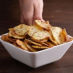 Salt & Vinegar Chips Recipe by Tasty