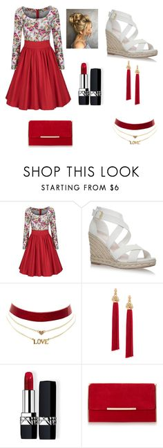"""Fancy Day"" by cute-outfits25 on Polyvore featuring WithChic, Charlotte Russe, Yves Saint Laurent and Christian Dior"