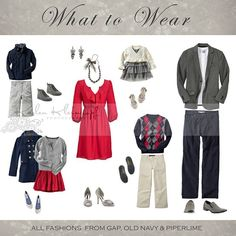 What to wear - holiday family photos