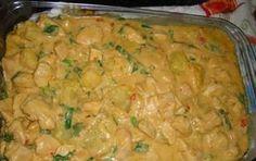 Receita de Filé de frango com batatas ao molho de requeijão e catupiry - Cozinhar.org