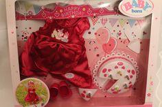 ZAPF CREATION Baby Born Deluxe Geburtstags Set NEU & OVP in Spielzeug, Puppen & Zubehör, Babypuppen & Zubehör | eBay!