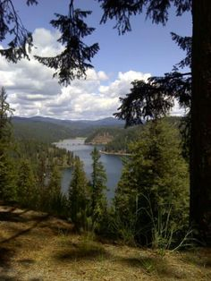 Scenic north Idaho