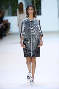 Paris Fashion Week 2015 Displayed Garments Based on Famous Buildings #design trendhunter.com