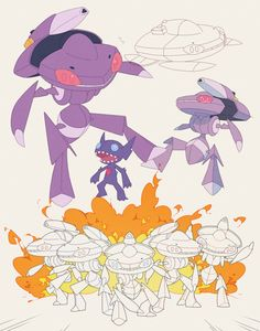 Sableye and Genesect