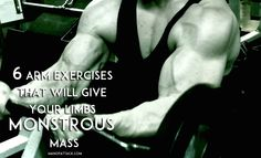 PUT ON SOME SIZE! #armworkout #buildingmass #buildingmuscle #weighttraining #workout #manofattack