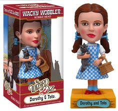 Dorothy bobblehead...and Toto too!