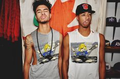 Laith Hakeem & Marlon Palmer! Funny and Gorgeous at the same time <3