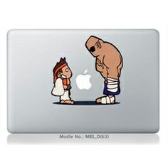 Be a winner with MiniSuit's latest addition to their Apple accessory line: Decal stickers! This fun and fashionable vinyl decal sticker will adorn that little Apple logo on the back of your iPad 1, 2, The New iPad 3/3rd Gen, MacBook Air, MacBook, or