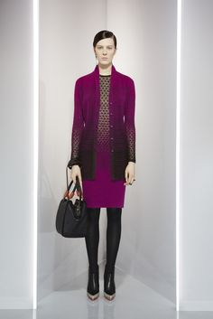 Missoni - Pre fall 13. Purple trend!!
