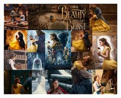 """""""The Iconic Beauty and the Beast🌹"""" by mmsbeg ❤ liked on Polyvore featuring art"""