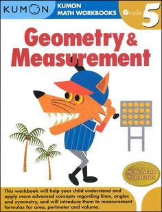 Geometry & Measurement Workbook - Grade 5 | Main photo (Cover)