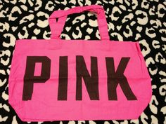 Brand New# Victoria's Secret PINK Tote in Handbags & Purses | eBay