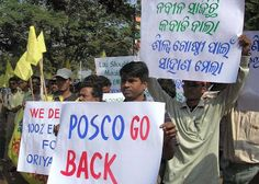 Orissa says POSCO go back