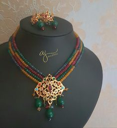 Showcasing the best of Indian jewelry designs. by AdaaJewels Kundan Jewellery Set, India Jewelry, Gold Jewellery Design, Latest Jewellery, Bridal Jewellery, Ganesh Pendant, Hyderabadi Jewelry, Rajputi Jewellery, Velvet Suit