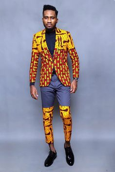 Super Hot Ankara You Need To Rock if You are Visiting Africa – Momo Africa African Clothing For Men, African Shirts, African Men Fashion, Best Mens Fashion, Mens Fashion Suits, African Wear, African Attire, Ankara Fashion, Ankara Styles For Men