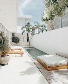Exterior Design, Interior And Exterior, Interior Office, Modern Interior, Outdoor Spaces, Outdoor Living, Outdoor Pool, Cheap Home Decor, My Dream Home