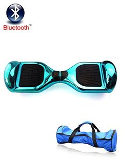 """#HoverBoardChristmasGift - #CyberMondaySales #BlueHoverBoards - 6.5"""" 2 Wheels Intelligent Electric Balance Drifting Scooter Mini Unicycle Smart Self Balancing Electronic Hoverboard Hover Board Chrome Blue - http://bit.ly/1OxDV4y"""