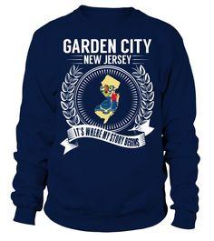 Garden City, New Jersey Its Where My Story Begins T-Shirt #GardenCity