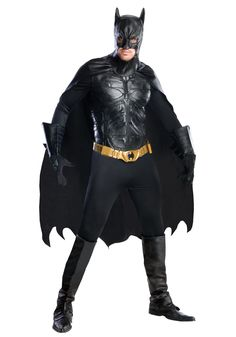 You can never go wrong with this iconic Batman Costume for all ages.  https://ripstershalloweenshop.ca/search/content/batman