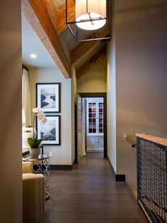 - Second Floor Hallway Pictures From HGTV Dream Home 2014 on HGTV. Big photos for space