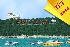 Du Lịch Thái Lan Tết – Bangkok- Pattaya – 5 Ngày 4 Đêm dịp tết Ất Mùi 2015 giá rẻ khởi hành từ Hà Nội, Tour Thái Lan khởi hành vào Mùng 3 và 4 Tết