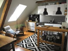 20 Small, Black and White Kitchens That Prove This Classic Combo Is Always In Style — Small Cool Kitchen Roundup | The Kitchn