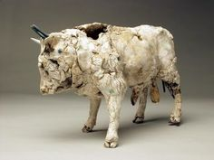 Cloud Gallery - Ceramic Bull by Emma Rodgers