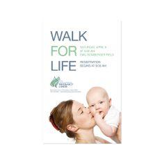 POSTER | Client: Harrisonburg Pregnancy Center | Responsibilities: Concept & Design | Typeface: Helvetica