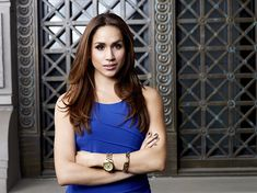 Meghan played Rachel Zane in the hit show