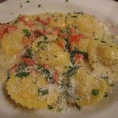 Carrabba 39 s italian grill copycat recipes lobster ravioli food pinterest lobster ravioli for Olive garden lobster ravioli recipe