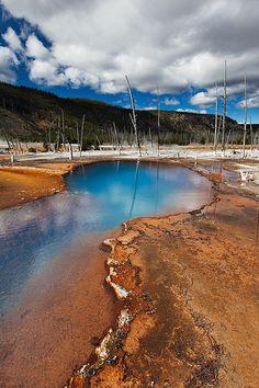 Opal Pool, Yellowstone National Park