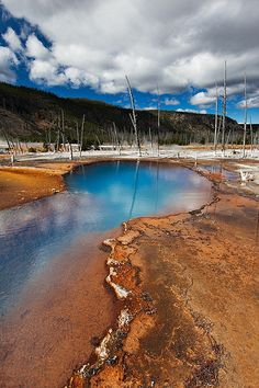 Opal Pool, Yellowstone National Park