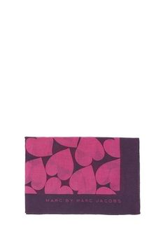 Big Hearted Woven Scarf - M1121858 - Marc By Marc Jacobs - Womens - Ready to Wear - Marc Jacobs