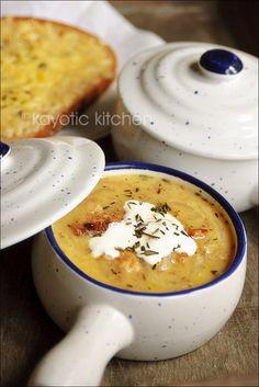 Sweet Onion & Bread Soup