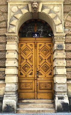 Vienna, Austria door