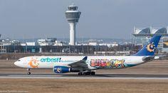 Evelop A330-300 (Orbest) am Flughafen München