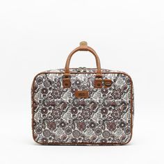 Binilus portaordenador de Misako Laptop Bags, Toiletry Bag, Are You The One, Suitcase, Backpacks, Collection, Handbag Organizer, Floral Illustrations, Zippers
