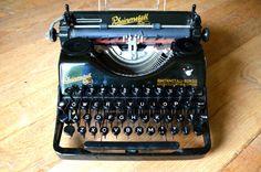 TYPEWRITER SALE  Rare German Rheinmetall by WorkingTypewriters