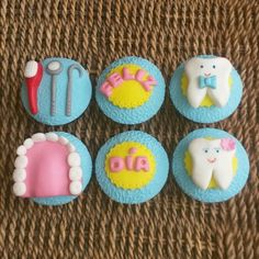 Dentist Cupcakes                                                       …