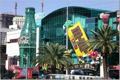 M & M World and Coke Store in Las Vegas